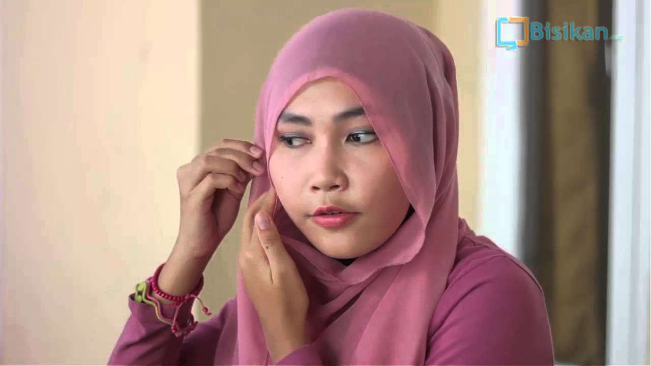 Tutorial Hijab Paris Gaya Ikat YouTube
