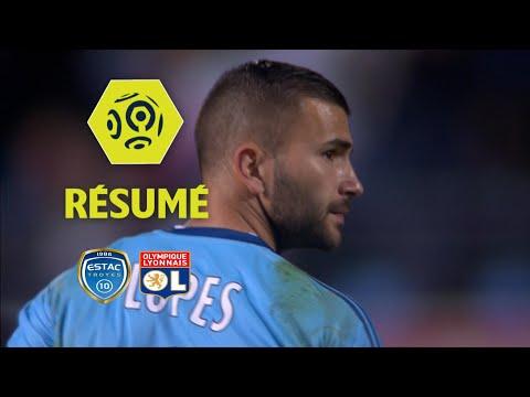 ESTAC Troyes - Olympique Lyonnais (0-5)  - Résumé - (ESTAC - OL) / 2017-18