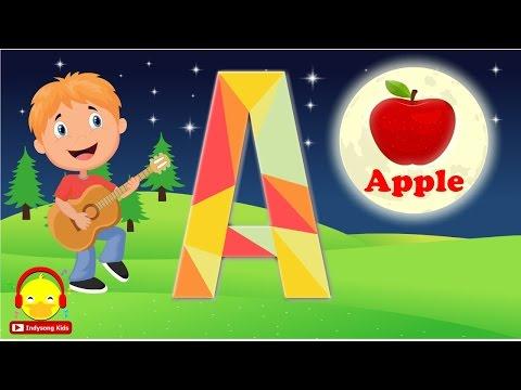 เพลงเอบีซี ABC Song ภาษาอังกฤษ ♫ ABC song nursery rhymes เพลงเด็กอนุบาล Indysong Kids