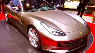 NEW FERRARI GTC4 LUSSO - SALONE DI GINEVRA 2016 - GENEVA MOTOR SHOW 2016