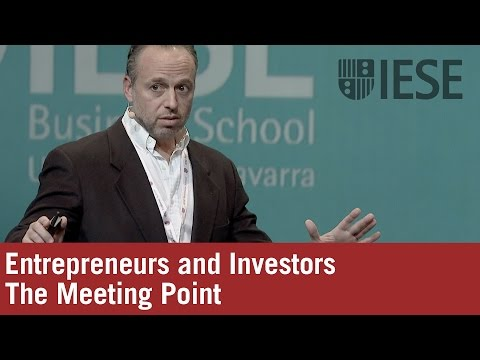 Entrepreneurs and Investors: The Meeting Point