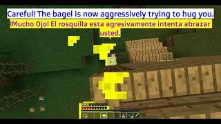 How to greet a bagel / Cómo saludar un rosquilla