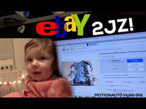 MotionAuto Vlog 001 - Found a 2JZ for the Supra off eBay!