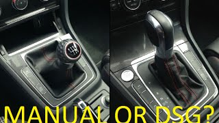 DSG vs. Manual - What's Best for YOU?