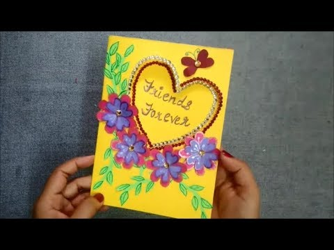 how to make friendship day card