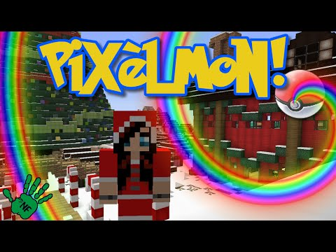 Let's Play Pixelmon! [10] *Christmas Games! Name those Staff?! * Minecraft PC