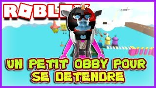 A SMALL OBBY TO RELAX Roblox Parkour!