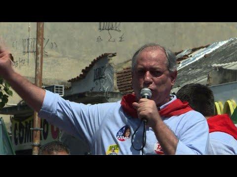 Mais distante de Haddad, Ciro faz campanha no Rio