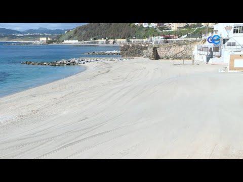 """Vivas plantea """"hacer todo lo posible"""" por dotar de duchas a la playa de Calamocarro"""