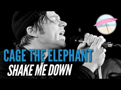 Cage the Elephant - Shake me Down (Live at The Edge)