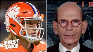'Trevor Lawrence is NOT staying at Clemson!' - Paul Finebaum | First Take