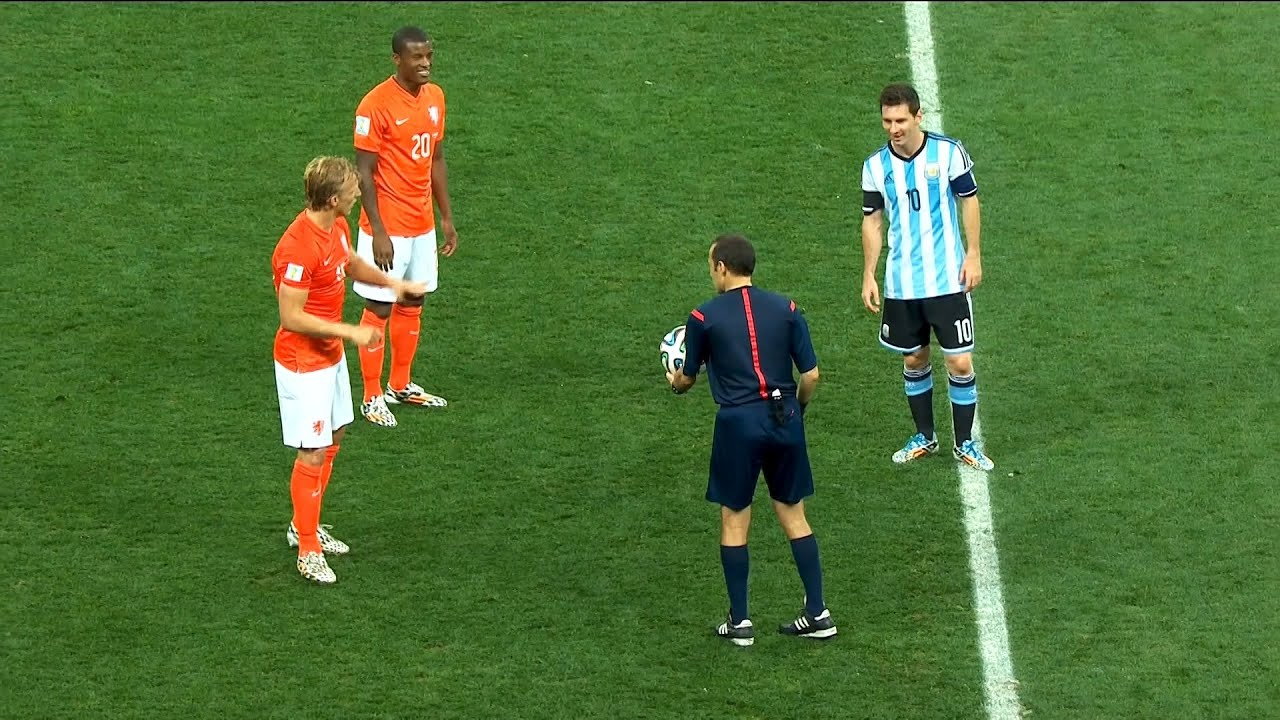 Download Lionel Messi vs Netherlands (World Cup 2014) 1080i English Commentary (Semi Final)