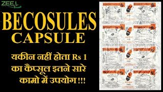How To Make Healthy Nails and Hair | Daily Essential Nutrients | Becosules Full Review | Hindi