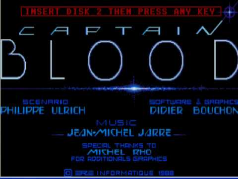 Captain Blood - Jean-Michelle Jarre Video game 1998
