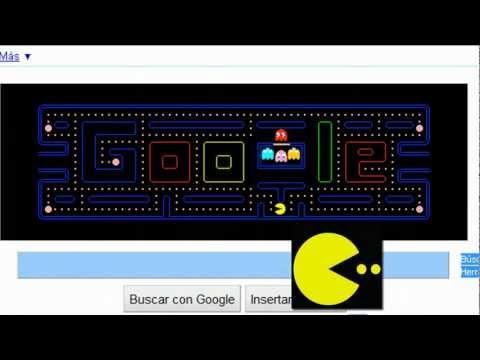 Pacman Google Logo Game! (Pacman's 30th Birthday)