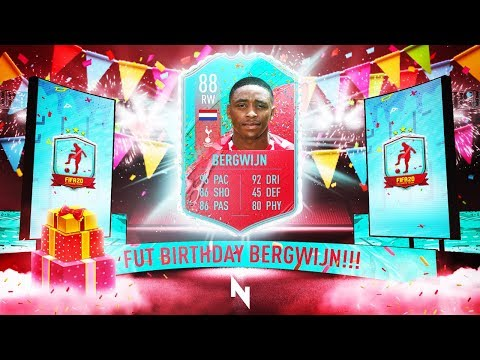 AMAZING BERGWIJN FUT BIRTHDAY SBC! - FIFA 20 Ultimate Team