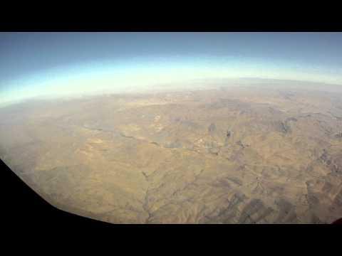 Udsigten Fra RDAF C130 Hercules Over Afghanistan