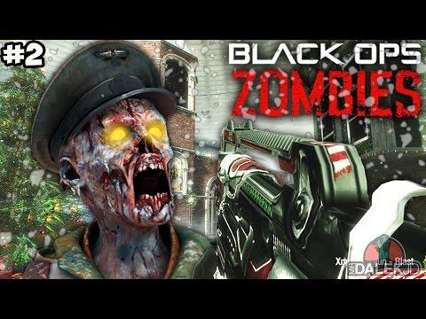 "NEW XMAS RAY GUN! - Call of Duty Zombies ""SNOWGLOBE"" Custom Map FINALE! (COD Zombies)"