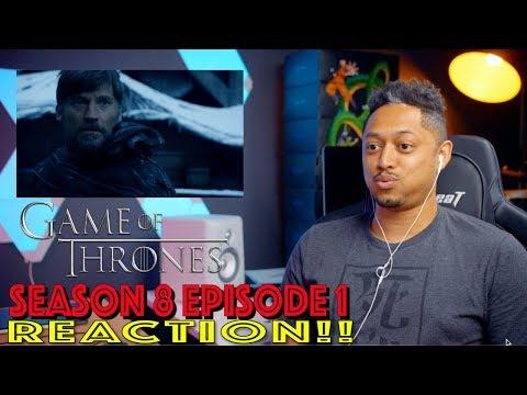 Game of Thrones Season 8 Episode 1 Reaction!