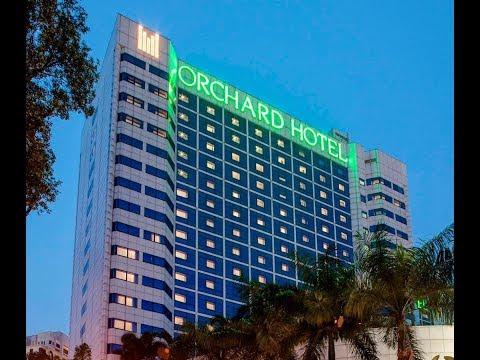 LUXURY SKYLINE MODERN ARCHITECT CONCEPT DESIGN # Orchard Hotel Singapore