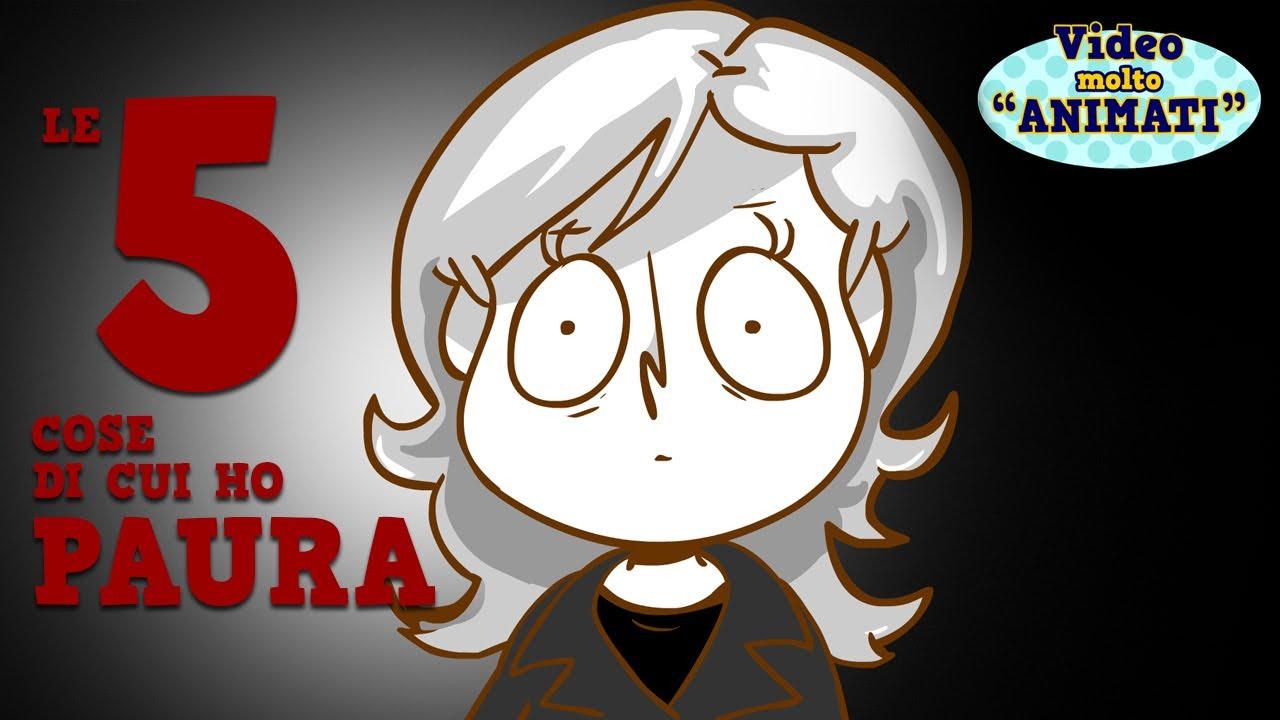 Le cose di cui ho paura cartone animato elenapugger
