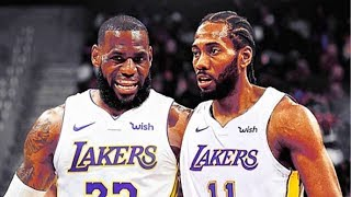 LeBron James Gets Kawhi Leonard and Paul George on the Lakers (Parody)