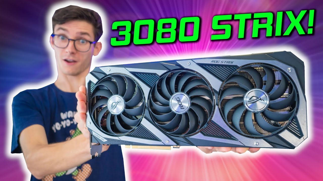 THE BIG ONE HAS ARRIVED! - Asus ROG Strix RTX 3080 OC Review! (Overclocking, Benchmarks, Thermals)