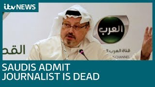 Saudi Arabia claims journalist Jamal Khashoggi died after fight at Istanbul consulate | ITV News