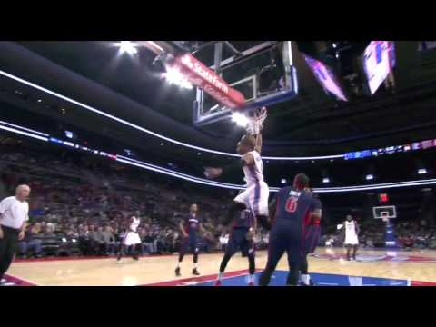 Russell Westbrook destroys the Pistons