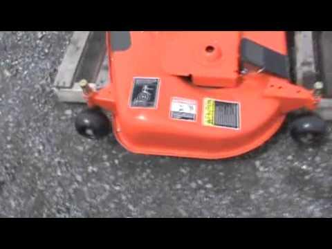 Kubota B2320 2620 2920 Rck60 29b 60 Quot Belly Mower Deck For