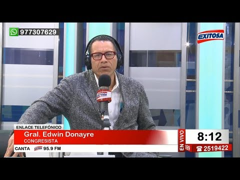 Phillip Butters en Exitosa Noticias Programa Completo 10 de agosto de 2017