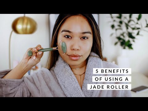 5 Benefits of Using A Jade Roller + How To Use