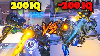 200 IQ vs -200 IQ - Overwatch