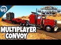 BIG EVENT: MULTIPLAYER, HEAVY CARGO, LONG HAUL, MANY PLAYERS | American Truck Simulator Gameplay