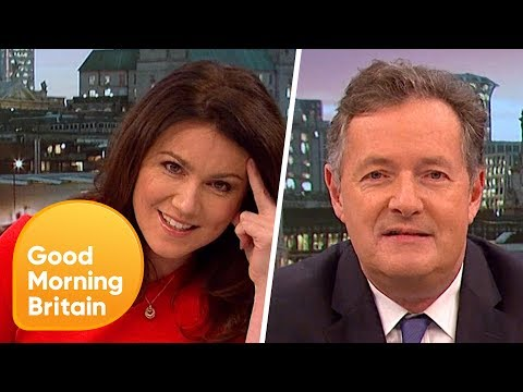 Piers Morgan's Passionate Gender Rant!  Good Morning Britain