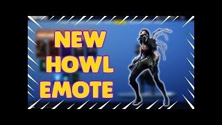 Fortnite Emote Glitch (Wolf Howl Made A Sheep Noise) Battle Royale