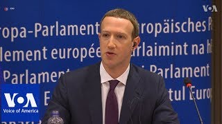 Facebook's Zuckerberg Apologizes to EU Lawmakers
