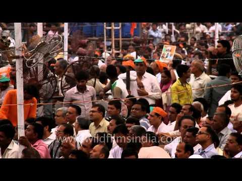Will Narendra Modi mermerize the Indian voter in 2014?