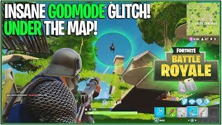 "*NEW* FORTNITE ""GODMODE"" GLITCH! *Under the Map New Method* 