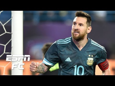 Lionel Messi's Argentina looked surprisingly organized in win vs. Brazil - Ale Moreno | ESPN FC