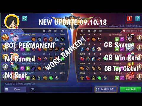 Update 09 Oktober 2018 |Apk Bot Permanent Mobile Legend [No Ban]