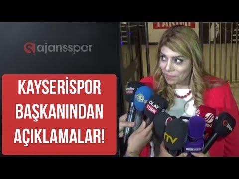 """Kayserispor Başkanı Berna Gözbaşı: """"Gelecek haftalar için umutluyuz"""""""
