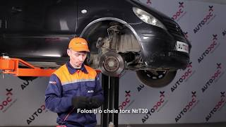 Scoate Placute Frana MERCEDES-BENZ - ghid video