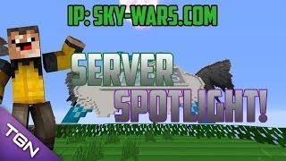 Sky-Wars Let's Play! | Server Spotlight | IP: Sky-Wars.com