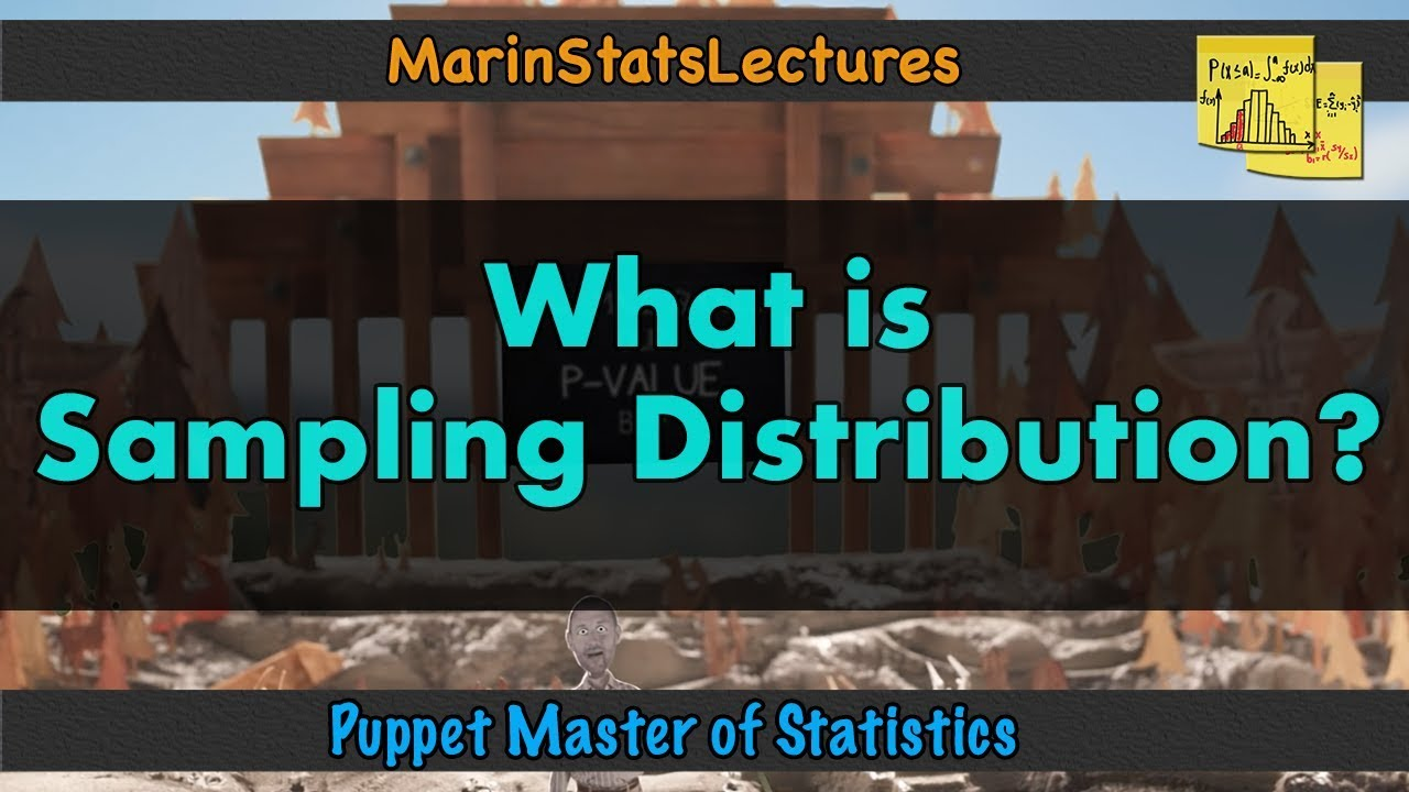 What is a Sampling Distribution? | Puppet Master of Statistics