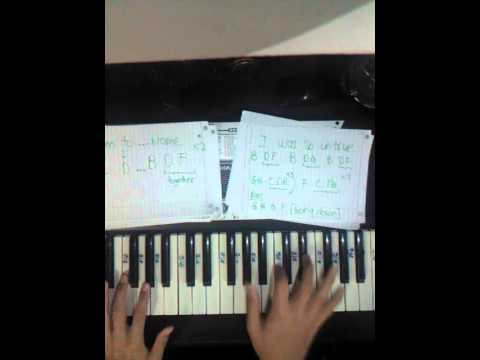 Shes Gone - Steelheart,  Piano Tutorial