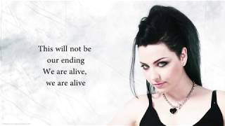 Evanescence - Imperfection Lyrics