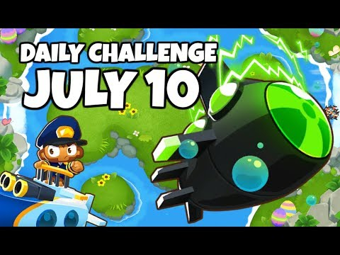 BTD6 Daily Challenge - PcGames Manhire&39;s Challenge - July 10 2019