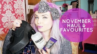 November Haul And Favourites Asos/ Crown And Glory/ Blogilates
