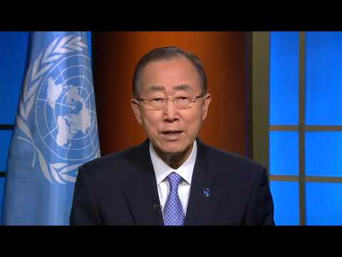 Ban Ki moon UN Secretary General   2015 International Day of Democracy